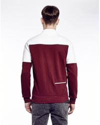 Le Coq Sportif | Purple Tricolores Alibi Fz Sweatshirt for Men | Lyst