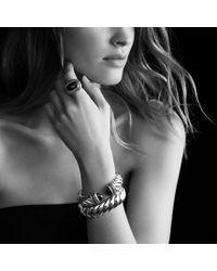 David Yurman - Waverly Bracelet with Black Onyx and Black Diamonds - Lyst