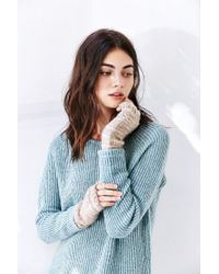 Urban Outfitters - Multicolor Cozy Plush Spacedyed Armwarmer - Lyst