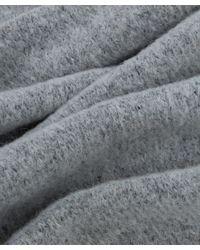 Norse Projects - Gray Light Grey Melange Alpaca-blend Scarf for Men - Lyst