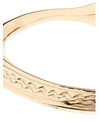 Aurelie Bidermann | Metallic Apache Gold-Plated Cuff | Lyst