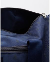 Original Penguin | Blue Duffle Bag With All Over Print for Men | Lyst