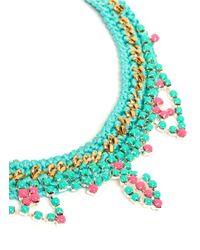 Venessa Arizaga | Blue 'summer Love' Necklace | Lyst