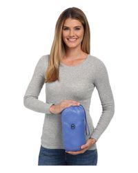 MICHAEL Michael Kors - Blue Packable W/ Side Quilt & Hood - Lyst