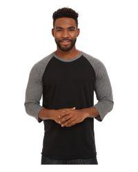 Hurley | Black Staple Dri-fit Raglan for Men | Lyst