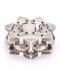 Fred Leighton | Metallic Estate Vintage Sterling Silver Bracelet for Men | Lyst