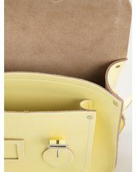 Cambridge Satchel Company - Yellow Raw Cut Satchel - Lyst