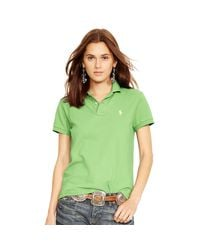 Polo Ralph Lauren | Green Classic-fit Polo Shirt | Lyst