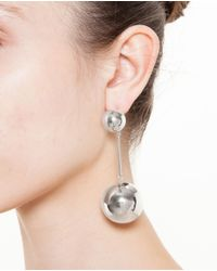 J.W.Anderson - Metallic Globe Earrings - Lyst