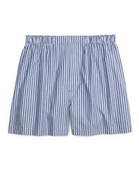 Brooks Brothers - Blue Traditional Fit Split Stripe Boxers for Men - Lyst