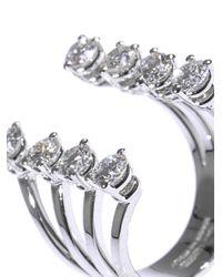 Delfina Delettrez - Metallic White Diamond and Gold Ring - Lyst