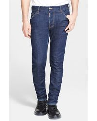 DSquared² | Blue 'cool Guy' Slim Fit Jeans for Men | Lyst