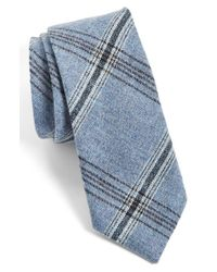 Alexander Olch | Blue Woven Tie for Men | Lyst