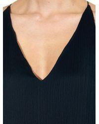 The Row - Black Lahel Plissé Dress - Lyst