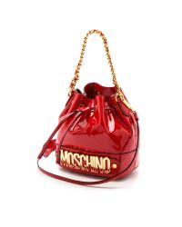 Moschino - Bucket Bag - Red - Lyst