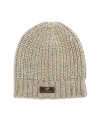 UGG | Natural Slouchy Knit Hat for Men | Lyst