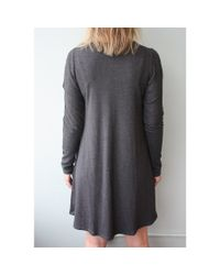 LNA | Gray Lucia Dress | Lyst