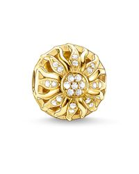 Thomas Sabo - Yellow Karma Bead Sunshine Y - Lyst