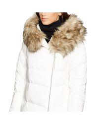 Polo Ralph Lauren | Natural Detachable-hood Down Coat | Lyst