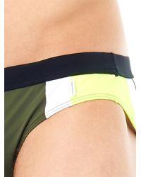 Danward - Natural Panelled Swim Trunks for Men - Lyst