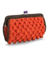M Missoni - Orange Womens Borsa A Mano Clutch Bag - Lyst
