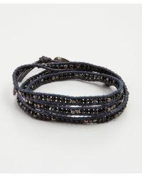 Chan Luu - Black Wrap It Up Bracelet - Lyst