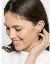 BaubleBar - Metallic Crystal Zelda Ear Crawlers - Lyst