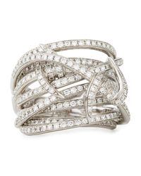 Stephen Webster | Metallic Forget Me Knot Barbed Diamond Ring | Lyst