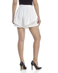 Do+Be Collection - White Layered Shorts - Lyst