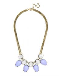 BaubleBar | Purple Scarab Collar | Lyst