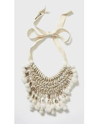 Figue | White Malo Necklace | Lyst