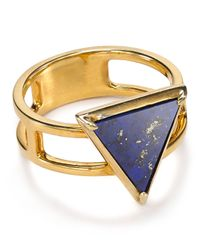 Elizabeth and James - Blue Astor Stacking Ring - Lyst
