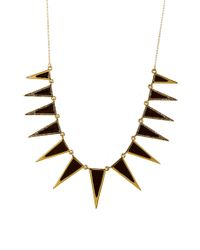 House of Harlow 1960 | Black Necklace / Longcollar | Lyst