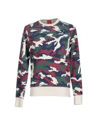 PUMA - White Sweatshirt for Men - Lyst