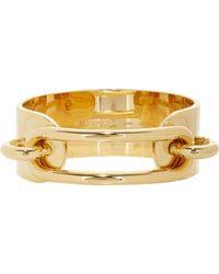Balenciaga   Metallic Ligne Maillon Bracelet   Lyst