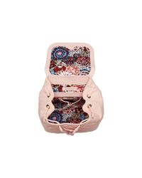 Vera Bradley - Pink Quilted Amy Backpack - Lyst