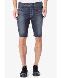 Hudson Jeans - Blue Hess Cutoff Short for Men - Lyst
