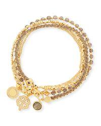 Astley Clarke | Metallic Golden Opportunities Charm Bracelets | Lyst