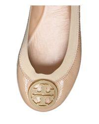 Tory Burch - Pink Caroline Patent Ballet Flats - Lyst