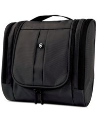 Victorinox | Black Hanging Travel Toiletry Kit for Men | Lyst