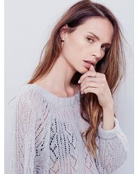 Free People - Gray Womens Lights Will Shine Pullover - Lyst