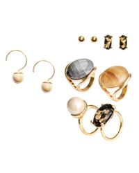 H&M | Metallic Jewellery Set | Lyst