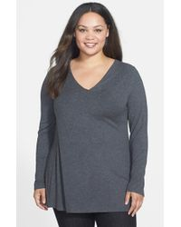 Lyssé   Black 'damaris' Top With Shaping Liner   Lyst