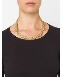 Henson | Metallic 'spine' Necklace | Lyst