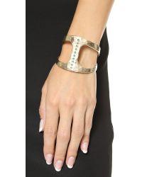Pascale Monvoisin | Metallic Seven Cuff Bracelet - Gold/turquoise | Lyst