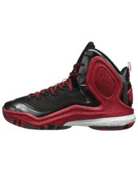 Adidas | Red D Rose 5 Boost for Men | Lyst