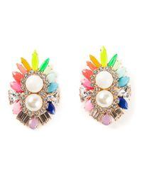 Shourouk | Multicolor 'lady' Earrings | Lyst