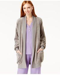 Hue | Gray Solid Cozy Wrap | Lyst