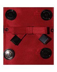 Burberry - Red Churchlake Grosgrain Trench Coat - Lyst