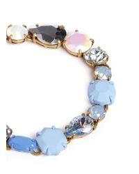 J.Crew - Multicolor Mixed Stone Bracelet - Lyst